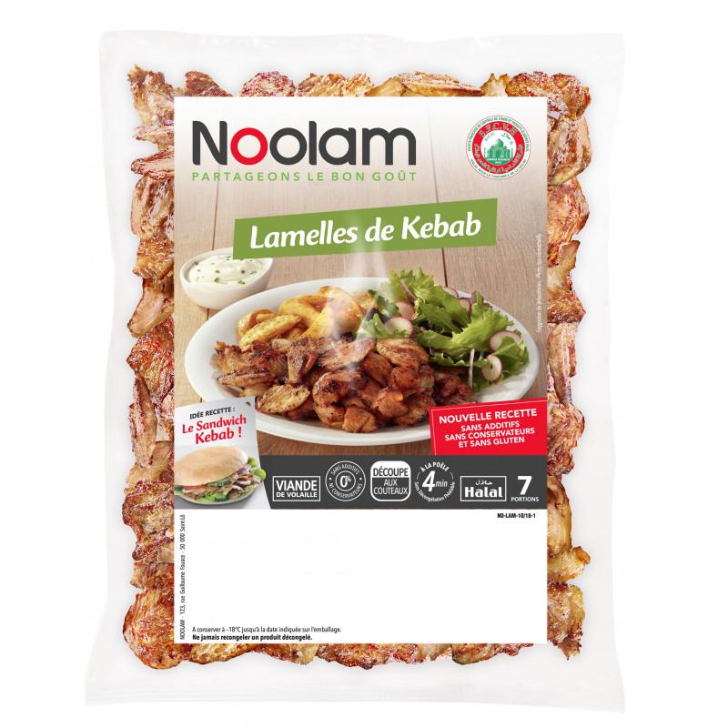 Lamelles de kebab Noolam