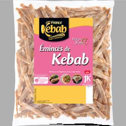 Émincés de kebab 850g