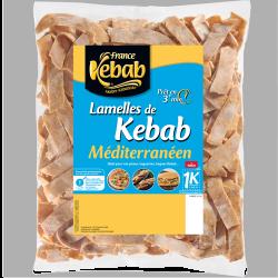 Lamelles de kebab...