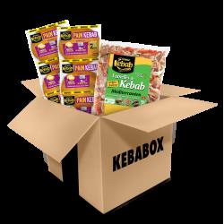 KEBABOX Légumes (sachet...