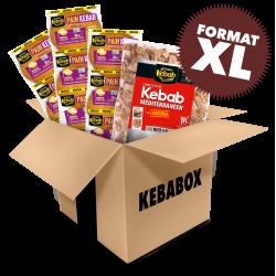 KEBABOX Méditerranéen XL...