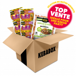 KEBABOX Poulet  coupe aux...